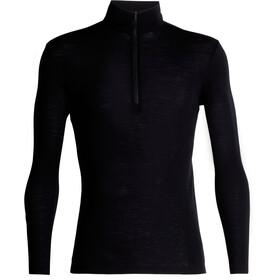 Icebreaker M's 175 Everyday LS Half Zip Shirt Black